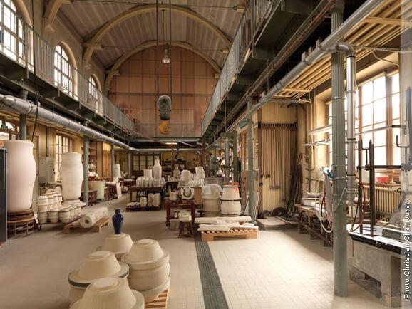 Manufacture de Céramique ©Christian Chamourat
