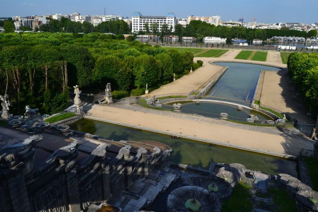 parc Saint Cloud à Sèvres